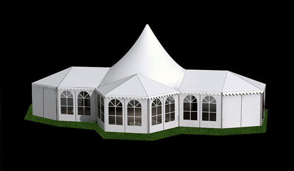 10X21m - SHELTER Bellend Tent - Oval Structures - Wedding Party Marquee - High Peak Tent - MPT-