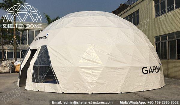 Domo geodesico - carpas estilo domo geodesico - carpas para eventos - tiendas comerciales 2