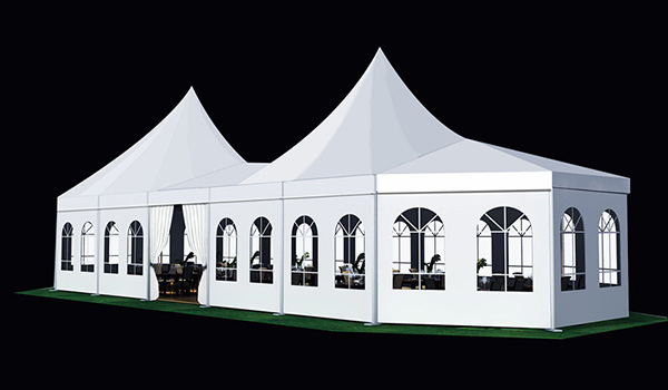 10x34m - SHELTER Bellend Tent - Oval Structures - Wedding Party Marquee - High Peak Tent - MPT-