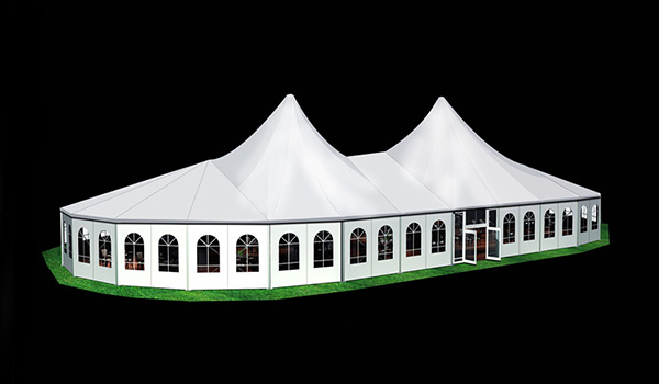 25x50m - SHELTER Bellend Tent - Oval Structures - Wedding Party Marquee - High Peak Tent - MPT--01