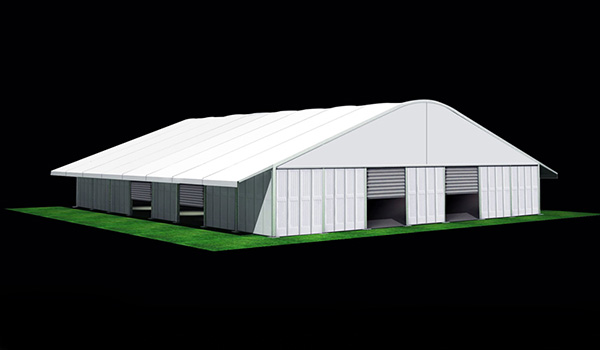35x40m - Large Event Tent - Commercial Marquee - Temporary Warehouse Building - Outdoor Wedding Hall - Arch Tent-