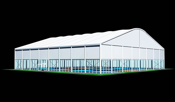 40x40m - Large Event Tent - Commercial Marquee - Temporary Warehouse Building - Outdoor Wedding Hall - Arch Tent-