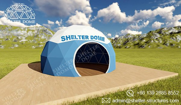 Domo geodesico - carpas estilo domo geodesico - carpas para eventos - tiendas comerciales 3