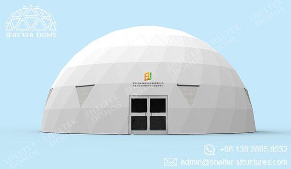 Domo geodesico - carpas estilo domo geodesico - carpas para eventos - tiendas comerciales 4