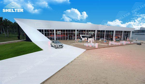 carpas realizada para la presentacion - carpas estilo pagoda - carpas para ferias y exposiciones - carpa con techo termico - tiendas comerciales (10)