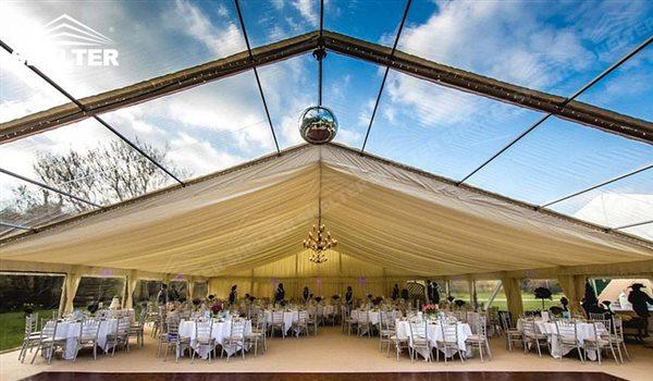 15x21m carpas transparentes para bodas celebrar 200 250 personas. Black Bedroom Furniture Sets. Home Design Ideas