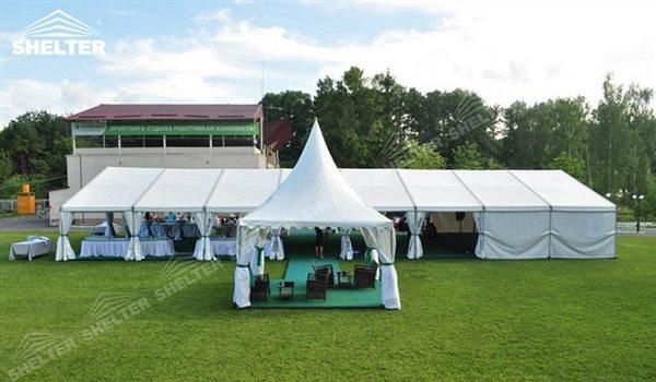10 x 24 m peque a carpas para bodas en jardines bautizos for Carpas para jardin