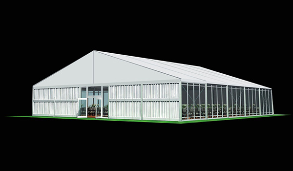 25x20m - SHELTER Wedding Hall - Luxury Party Tent with Glass Window - Reception Catering Tent - M Series-