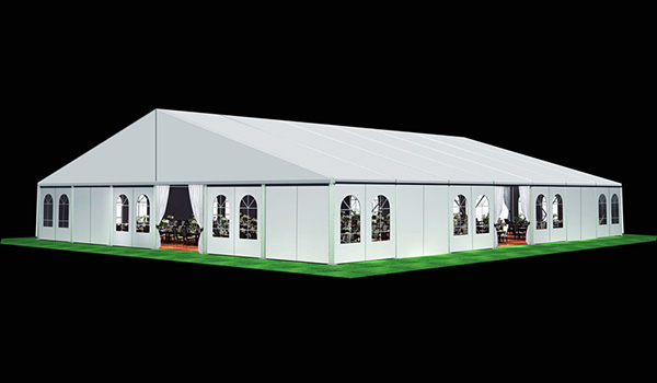 30x35m - SHELTER Wedding Hall - Luxury Party Tent with Glass Window - Reception Catering Tent - M Series-