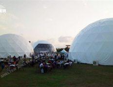 Carpa domo para la promoción de la marca - carpas estilo domo geodesico - carpas para eventos - tiendas comerciales (16)