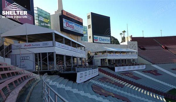 Carpa de dos pisos para el anuncio de la marca - estructuras de doble nivel - doble carpa decker - carpas para eventos deportivos - carpas para recepcion - carpas para eventos 22jpg (33)
