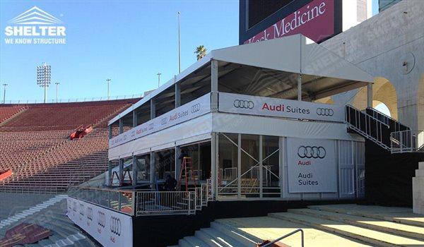 Carpa de dos pisos para el anuncio de la marca - estructuras de doble nivel - doble carpa decker - carpas para eventos deportivos - carpas para recepcion - carpas para eventos 22jpg (40)