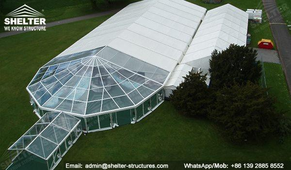 Carpas y Toldos desmontables - SHELTER luxury wedding marquee party tents for sale wedding tent decorations 12_(11)