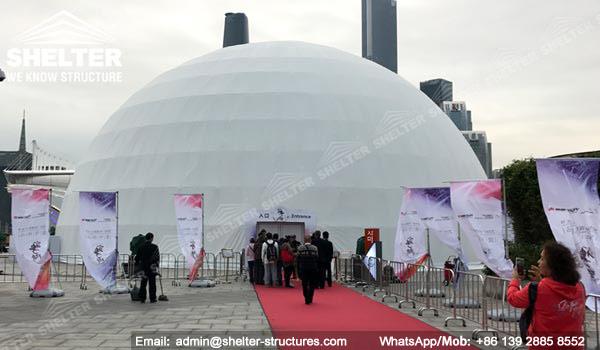 Domo Proyeccion - Domo Multimedia 3D - Domo Educativo - Geometrica domo - cinesphere - Estructuras de domo geodésicas - domo de proyección inmersiva (6)