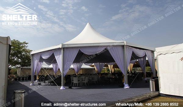 Carpas para bodas dosel lonas pabell n de bodas al aire for Perfiles para toldos lonas
