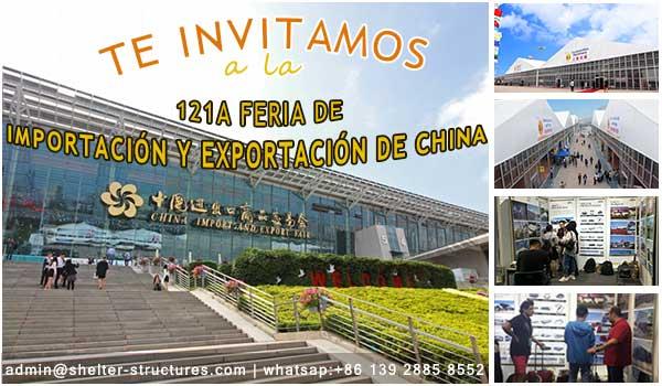 Proveedor de estructuras de tiendas modulares - instalaciones temporales de importación de China