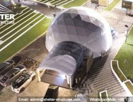 Dia. 15 metros Domos prefabricados para Evento musical - Cúpula de alojamiento en venta