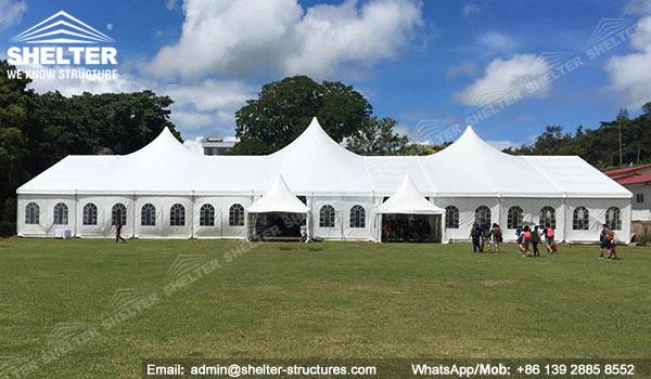 Carpa Piramide para eventos empresariale y congresos y banquete - carpas for sale - carpas para espectáculo (2)