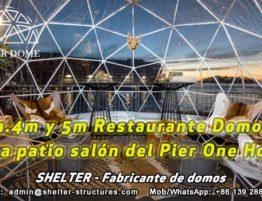 Restaurante Domo - Dia.4m y Dia.5 mts carpas Iglú para Café - Discoteca y Lounge y pub - cúpula de entretenimiento (2)