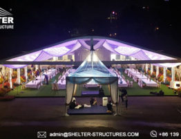 carpas de lujo para bodas eventos - tiendas grandes para boda real - Carpa espectacular para Evento corporativo - Carpas Hosteler (4)
