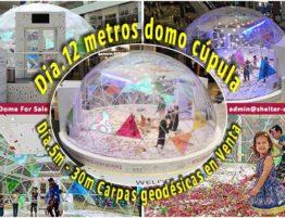 domo cúpula - carpa iglú geodésica para eventos de actividades comerciales - domos precios - domos geodesicos chile - mexico - españa - Colombia