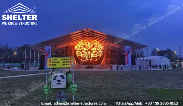Carpas Gigantes para Espectáculos, Grandes Conciertos, Premios y Celebración para 1000 2000 personas - carpas blancas para fiesta en venta (2)