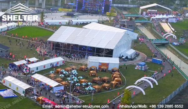 Carpas Gigantes para Espectáculos, Grandes Conciertos, Premios y Celebración para 1000 2000 personas - carpas blancas para fiesta en venta (5)