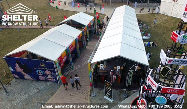 Carpas Gigantes para Espectáculos, Grandes Conciertos, Premios y Celebración para 1000 2000 personas - carpas blancas para fiesta en venta (6)