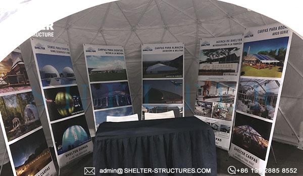 Carpas tipo domos geodésicas en 5m 6m 7m 8m 10m para eventos y habitación ecológica de glamping (3)