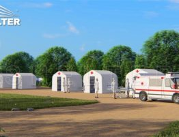 carpas hinchables-3x2.5m-temporary-isolation-shelter-inflatable-medical-tent-for-sale