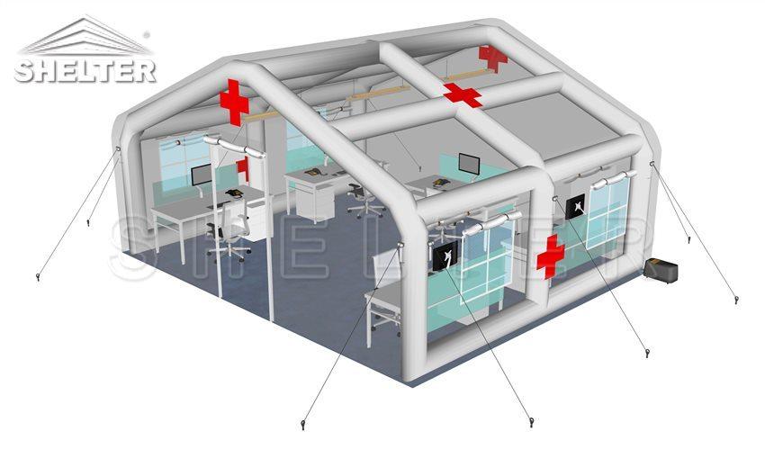inflable-carpa-médica-al por mayor-temporal-emergencia-refugio-campo-hospital-pruebas-carpa-comida-distribución-centro-temporal-comando-oficinas-1