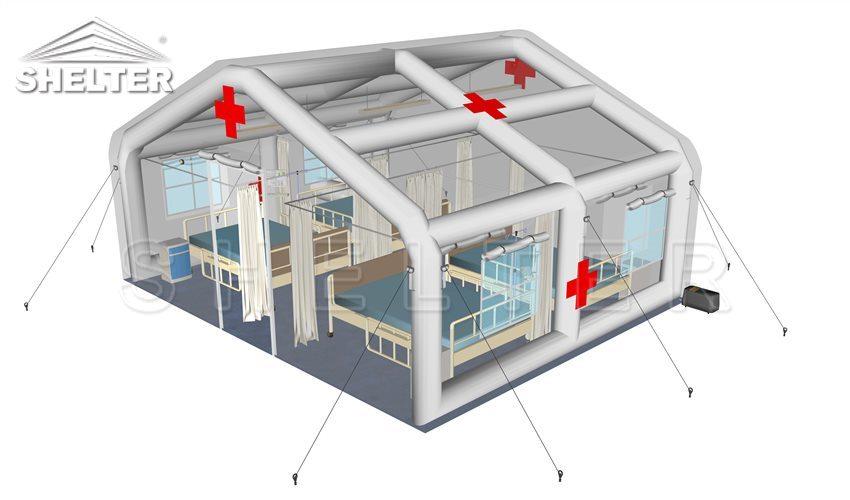 inflable-carpa-médica-al por mayor-temporal-emergencia-refugio-campo-hospital-pruebas-carpa-comida-distribución-centro-temporal-comando-oficinas-4